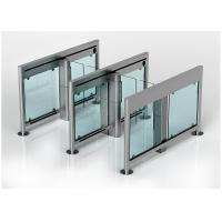 Wholesale SS304 Automatic Turnstiles ,  Intelligent Supermarket Swing Barrier from china suppliers
