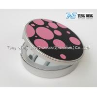 Promotional Pocket Makeup Mirror Cosmetic Compact Mirror With Music