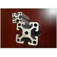20mm x 20mm Anodized Industrial Structural Aluminum Profiles For Assembly Line for sale