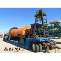 Large Capacity Portable Ore Mineral Grinding Mining Ball Mill Φ1500×3000 for sale