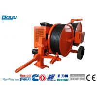 Wholesale Bull - Wheel Hydraulic Puller Tensioner Diameter 1500mm Cable Stringing Equipment from china suppliers