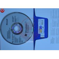 Buy cheap Microsoft System Software Windows 7 32/64 Bit Disc Key Sticker from wholesalers