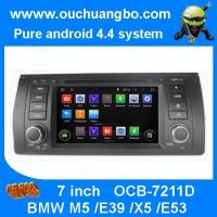 Wholesale Ouchuangbo DVD Navigation iPod USB 3G Wifi for BMW M5 /E39 /X5 /E53 Android 4.4 Radio Ster from china suppliers
