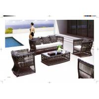 Wholesale new product garden sofa set hotel Leisure Rattan Sofa from china suppliers