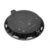 Wholesale EN124 D400 Round Lockable Heavy Duty Manhole Covers For Public Places from china suppliers