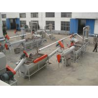Wholesale PP PET PS HDPE Waste Plastic Recycling Pelletizing MachineStainless Steel 304 from china suppliers
