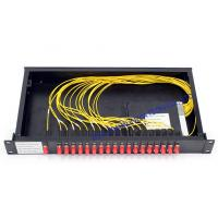 Buy cheap Rack Mount cwdm multiplexer / FC Connector Athermal AWG Module high speed from Wholesalers