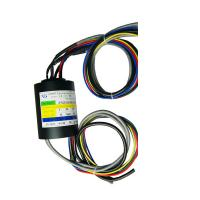 Wholesale Compact Size Through Hole Slip Ring 5 Circuits Transmitting Ethernet Common Signals from china suppliers