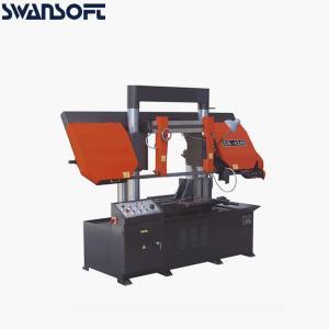 China GB4240 Horizontal Dual Column Metal Cutting Band Sawing Machine Manual Bandsaw on sale