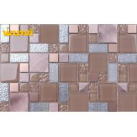 Wholesale Decorative Wall and Floor Kitchen Mosaic Tiles , Kitchen Backsplash Glass Tile from china suppliers