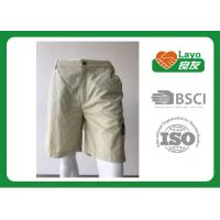 Buy cheap 100% Polyester Waterproof Solid Color Quick Dry Pants For Camping / Running L-030 from wholesalers