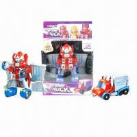 China Educational/Transformation Toys with the Container Truck on sale