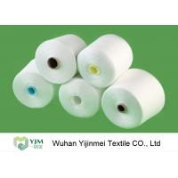 Wholesale 50/2 High Tenacity Knotless 100 Spun Polyester Yarn Raw White Virgin Eco Friendly from china suppliers