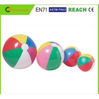 Wholesale Diameter 20 Inch Beach Ball , Funny Beach Ball Non Toxic In Accordance With EN71 from china suppliers