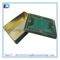 Wholesale Large square chocolate tin box from china suppliers