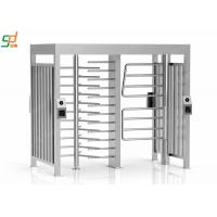 Wholesale TCP / IP Security Automatic Turnstiles Three Channel Full Height Turnstiles from china suppliers