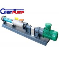 Wholesale G type single screw pump/with speed motor pump / food use pump / metallurgy pump / paper & printing pump / dyeing pump from china suppliers
