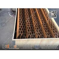 copper perforated metal plate screen