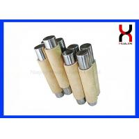 Food Industry Eco - Friendly Permanent Strong Magnet Rod In SUS316 Pipe for sale
