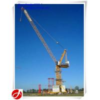 Wholesale 10t 50m boom luffing tower crane from china suppliers