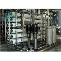 Simple Operation Seawater Desalination Plant SS 304 / SS316 Frame Material