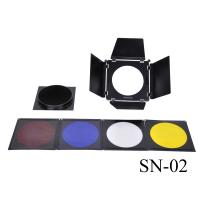 Wholesale  Photographic Lighting Accessories  Elinchrom Barn door filter kits with  Honeycomb , Filt from china suppliers