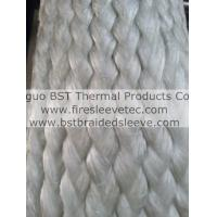 Buy cheap Raw Fibre Glass Fiberglass E-Glass Cloth Fabric Sleeve from wholesalers