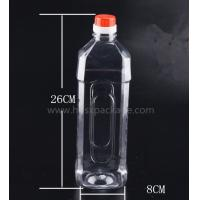 Wholesale PET 1000ml empty mineral water bottles with screw caps for drinking supply samples from china suppliers
