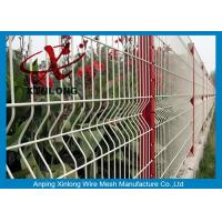 Buy cheap Customized Size Welded Wire Mesh Fence Screen Green / Red / Yellow / White Color from wholesalers