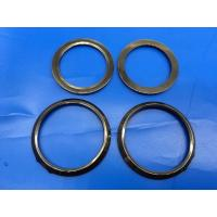 Wholesale Anti Crack Black Ceramic Seal Rings / Ceramic Watch Bezel Curved  Approved from china suppliers