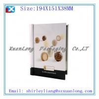 Wholesale high quality book shape tin chocolate box from china suppliers