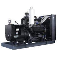 300kw water cooled bench mounted type diesel power generator set for sale