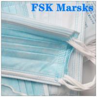 Wholesale Non Irritating Surgical Dust Mask Canada Face Protection Mask Construction Three Layer from china suppliers