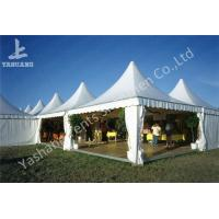 Wholesale Weather and Fire Resistant Array Pagoda Fabric White Outdoor Tent Party Canopy from china suppliers