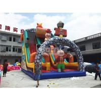 Wholesale Giant Jumping Commercial Inflatable Slide , Pirate Ship Inflatable Dry Slide For Kids from china suppliers