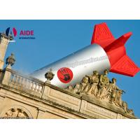 Buy cheap Building Decorative Inflatable Event Decoration Large Inflatable Rocket from Wholesalers