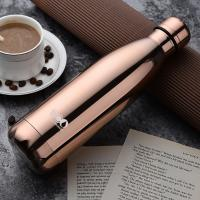 China Sports Thermos Vacuum Flask Cola Shape Hot & Cold Stainless Steel Vacuum Flask for sale