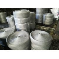 Wholesale Multifilament Engineering Stainless Steel Knitted Mesh For Shielding / Filtering from china suppliers