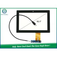 Wholesale USB IIC Interface Capacitive Touch Panel , 10.1'' Projected Capacitive Touch Screen from china suppliers