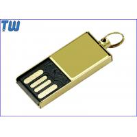 China Delicate Tiny Metal 8GB Pen Drives Stick Thumb Drive Free Key Ring for sale