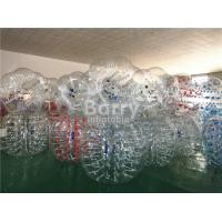 Quality 1.2m / 1.5m / 1.7m Diameter Human Inflatable Bumper Bubble Ball Inflatable Kids Toys for sale