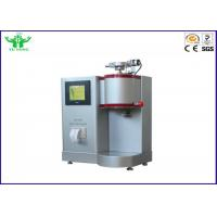 China ASTM D1238 ISO 1133 Flammability Testing Equipment / Electric Melt Flow Rate Tester Of PP PE Material MFR / MVR on sale