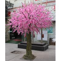 Wholesale artificial cherry blossom tree artificial flower plant fake tree from china suppliers