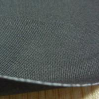 Wholesale 0.7mm Black Fire Retardant Neoprene Rubber Coated Fabric from china suppliers