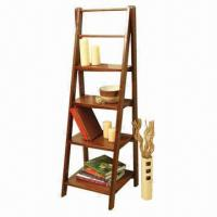 Wholesale Wooden Ladder Shelf/Rack from china suppliers