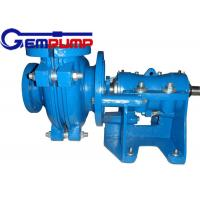 Buy cheap 50B-L Low Abrasive Centrifugal Slurry Pump horizontal double shell axial suction from wholesalers