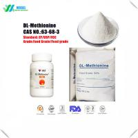 Wholesale Cheap Amino acids Methionine/DL-Methionine Nutrition Supplement Feed Additive/Food Additive from china suppliers