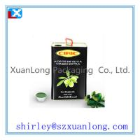 Wholesale camellia/olive oil tin can/box from china suppliers