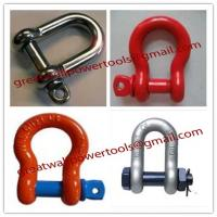 Buy cheap best quality Standard D Shackle, pictures forged Shackle from wholesalers