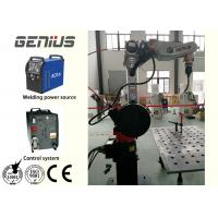 China Multipurpose Arc Welding Robot , Robotic Mig Welding Machine Large Working Space for sale